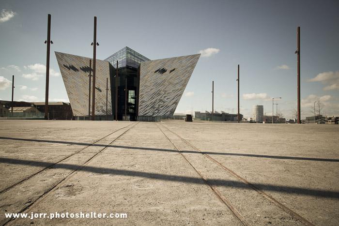 Titanic Building, Belfast, slipway, J Orr