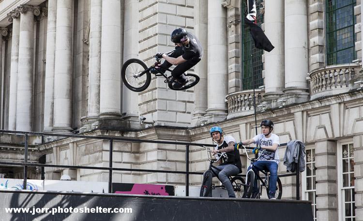 Belfast 400 J Orr stunt bmx bikes