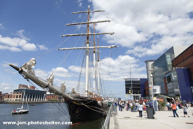 Gulden Leeuw, Belfast Titanic Maritime Festival 2013 J Orr