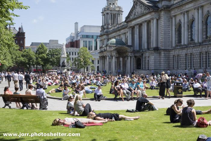 Belfast City Hall, J Orr