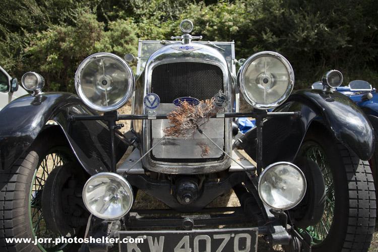 1928 Lagonda 2 Litre Speed Model, Craigantlet Hill Climb, J Orr
