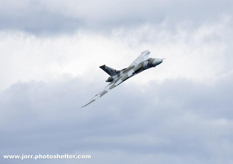 VTTS Avro Vulcan XH558, J Orr