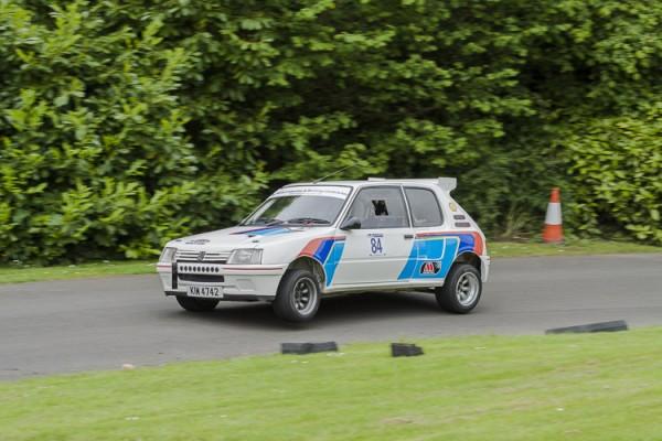 1985 Peugeot 205 RWD, Neil Dugan.