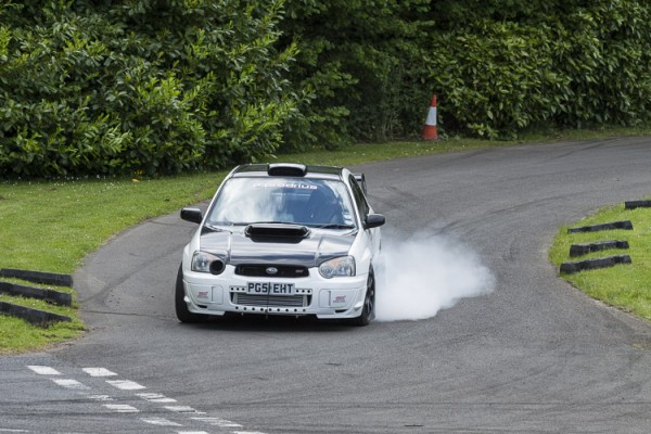 2003 Subaru Impreza WRX STi, James Heaslip.