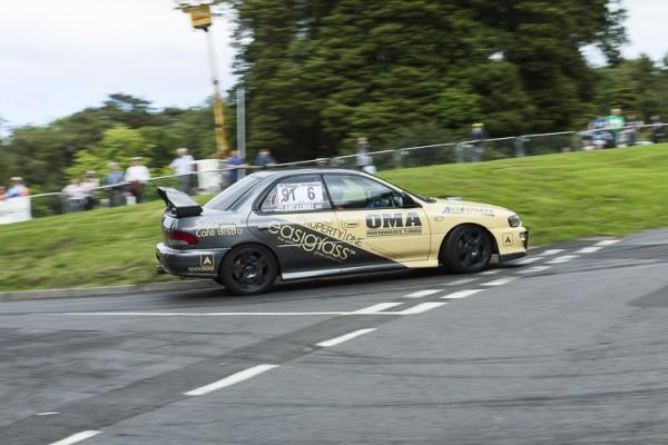 2000 Subaru Impreza, Mark Lancashire.
