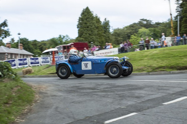 1935 Riley 12/4 Special, Alan Clarke