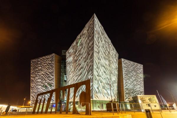 Titanic Building at Night