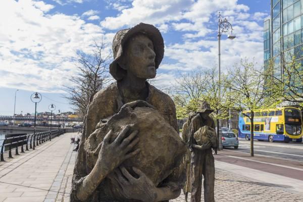 Famin, Dublin