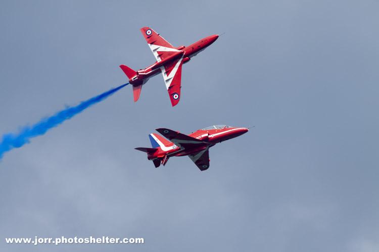 Red Arrows, J Orr
