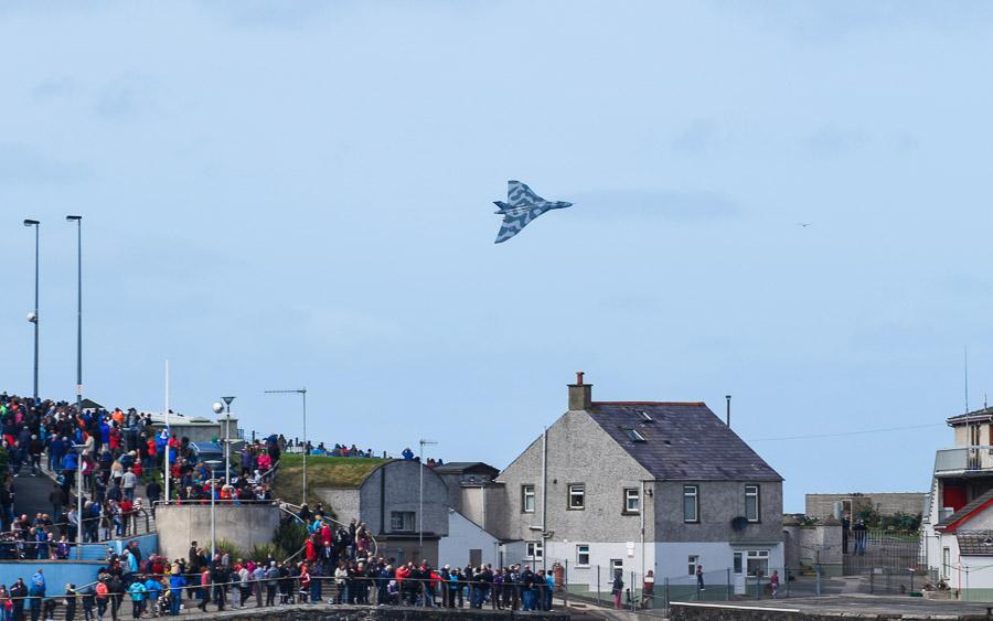Vulcan Bomber over Portrush